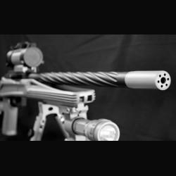 UsSocom Stubby Concave BioHazard HALO Muzzle Brake