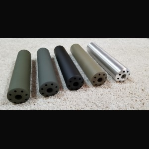 Large Convex Super 8 HALO Shrouded Muzzle Brake